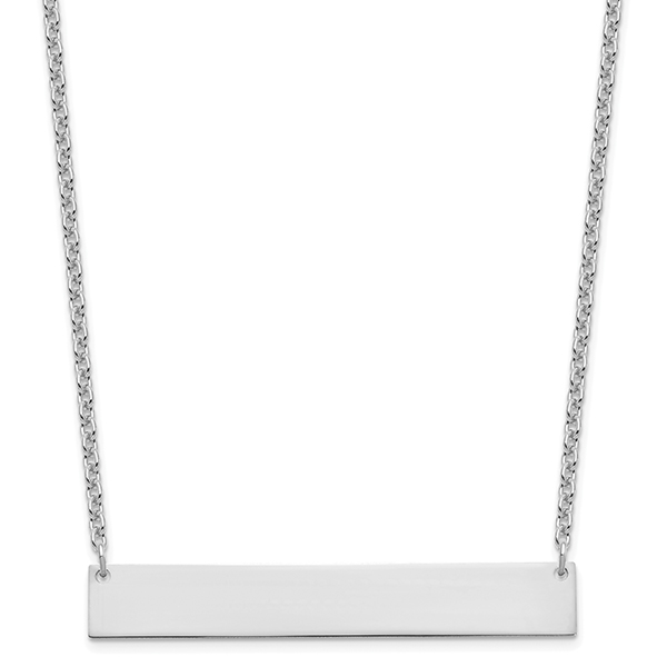 Bar Necklace - Sterling