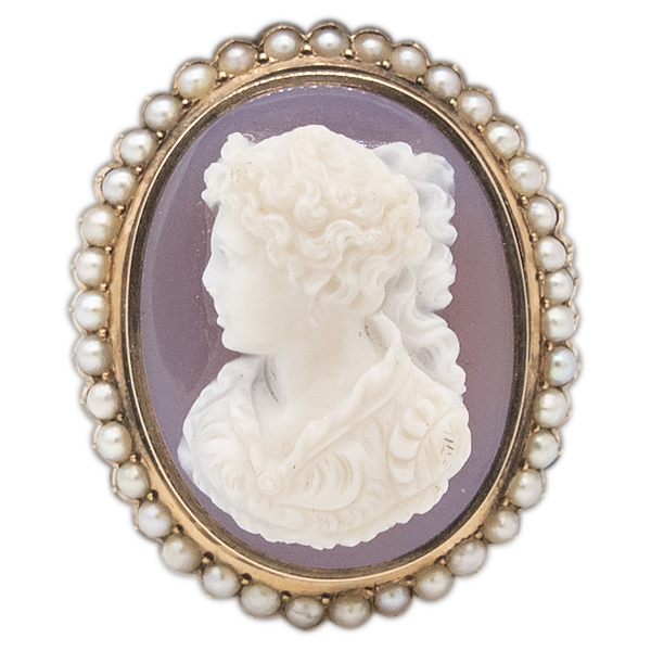 14kt Yellow Gold Cameo