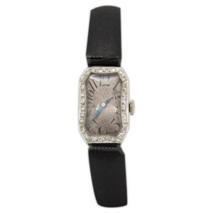 Platinum and Diamond Watch